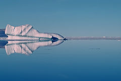 Iceberg in Canadian High Arctic Royalty Free Stock Photos