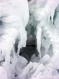 Iceberg cavity Royalty Free Stock Photography