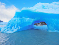 The iceberg and cold water Royalty Free Stock Photography