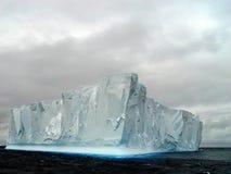 Iceberg, Continente antárctico Fotografia de Stock