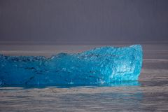 Iceberg d'Alaska Photo stock