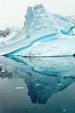 Iceberg dans Antartica Photo stock