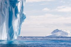 Iceberg de fusión Fotografía de archivo libre de regalías