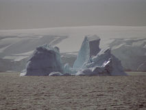 Iceberg de glace de l'Antarctique Photos libres de droits