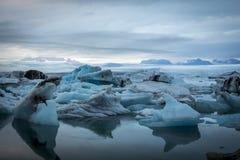 Iceberg de Islândia Imagem de Stock