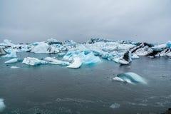 Iceberg de Jökulsárlón Fotos de archivo