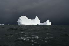Iceberg de l'Antarctique Images libres de droits