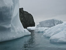 Iceberg de l'Antarctique Photographie stock