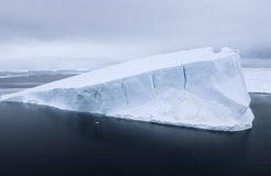 Iceberg de mer de l'Antarctique Weddell Images stock