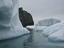 Iceberg dell'Antartide Fotografia Stock