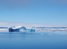 Iceberg dell'Antartide Immagini Stock