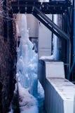Iceberg destructivo del callejón imágenes de archivo libres de regalías
