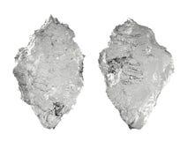 Iceberg di cristallo isolato su bianco Immagini Stock Libere da Diritti