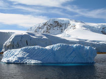 Iceberg di ghiaccio Fotografia Stock Libera da Diritti