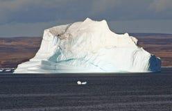 Iceberg do ártico de Gronelândia Fotografia de Stock
