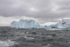Iceberg in Drake Passage near Shetland Islands Royalty Free Stock Photography