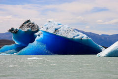 Iceberg, EL Calafate dans le Patagonia, Argentine Photographie stock