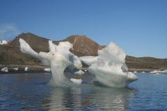 Iceberg em Hornsund, ártico Fotografia de Stock Royalty Free