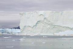 Iceberg em Ilulissat no por do sol Imagem de Stock Royalty Free