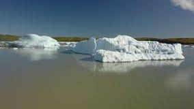 Iceberg em Islândia vídeos de arquivo