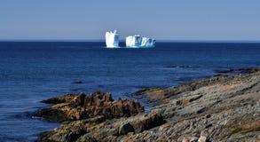 Iceberg em Terra Nova Imagens de Stock Royalty Free