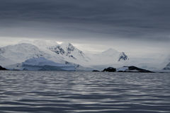 Iceberg en Antarctique Photo stock