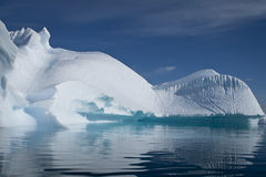 Iceberg en Antarctique Photos libres de droits
