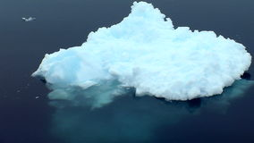 Iceberg en Antarctique banque de vidéos