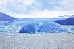 Iceberg en el glaciar de Upsala Foto de archivo libre de regalías