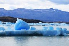 Iceberg en el glaciar de Upsala, Patagonia la Argentina Imagen de archivo