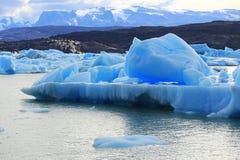 Iceberg en el glaciar de Upsala, Patagonia la Argentina Fotos de archivo