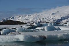 Iceberg en Islandia Foto de archivo