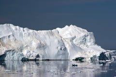 Iceberg en la bahía del disco, Ilulissat Fotos de archivo