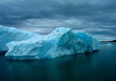 Iceberg en tormenta Foto de archivo libre de regalías