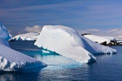 Iceberg enorme en Ant3artida imágenes de archivo libres de regalías