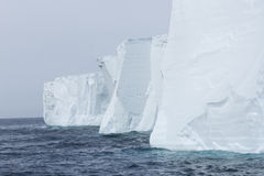 Iceberg faces Stock Photo