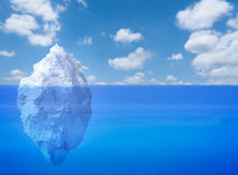 Iceberg floating Stock Images