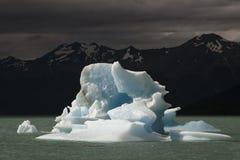 Iceberg floating on the lake. Royalty Free Stock Photography