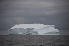 Iceberg floating near Antarctica. stock photography