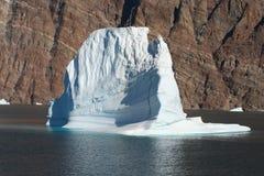 Iceberg fora de Greenland Fotos de Stock Royalty Free