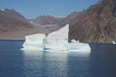 Iceberg fora de Greenland Fotografia de Stock