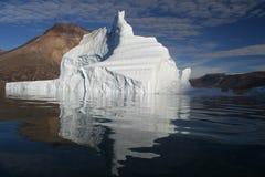 Iceberg fora de Greenland Foto de Stock