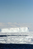 Iceberg. In front of coast Antarctica Royalty Free Stock Images