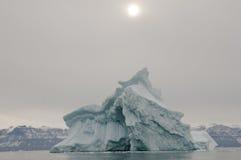 Iceberg gigante - som de Scoresby - Gronelândia Imagens de Stock Royalty Free