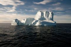 Iceberg gigante - som de Scoresby - Gronelândia Foto de Stock
