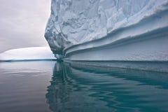 Iceberg gigantes greenland Imagem de Stock