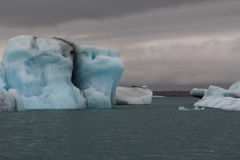 Iceberg glaciaire Image libre de droits