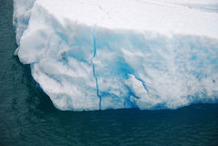 Iceberg in Glacier Bay in Alaska Stock Photography