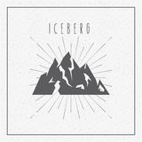 Iceberg glacier  design Stock Photo