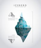 Iceberg glacier  design Royalty Free Stock Image